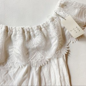 a new day Tops - 3 FOR $15 A NEW DAY NWT White Off the Shoulder S